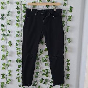 Black Banana Republic stretchy jeans size 30